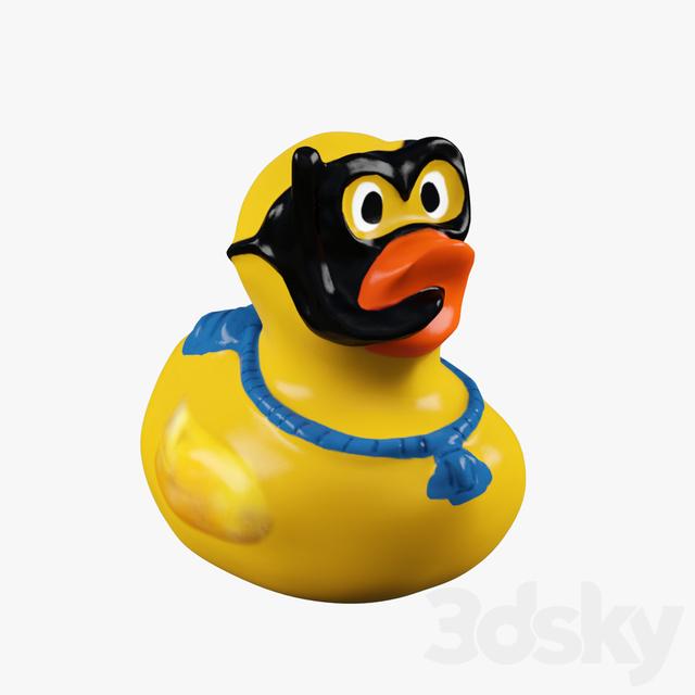 3d models: Toy - Rubber Duck