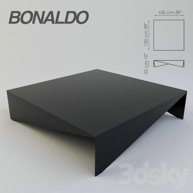 3d models table tavolino voil 224 bonaldo