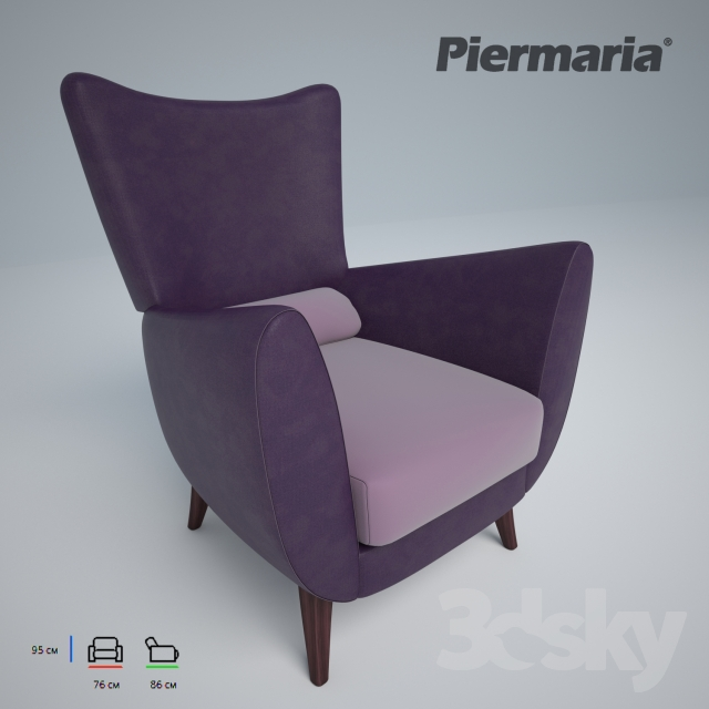 Armchair PIERMARIA RICORDI POLTRONA