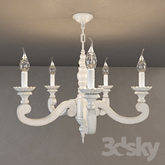 3d Models Ceiling Light Etienne Chandelier