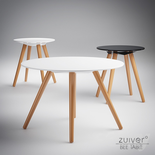 3d models table zuiver bee table for Table zuiver