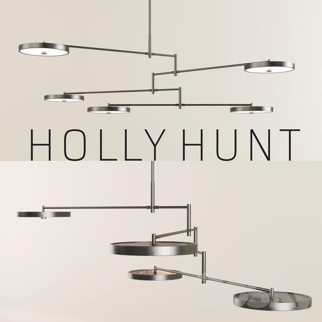 3d models Ceiling light HOLLY HUNT Helios Chandelier – Holly Hunt Chandelier