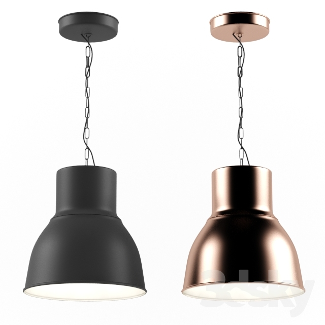 3d models ceiling light ikea pendant lamp hektar ikea pendant lamp hektar aloadofball Image collections