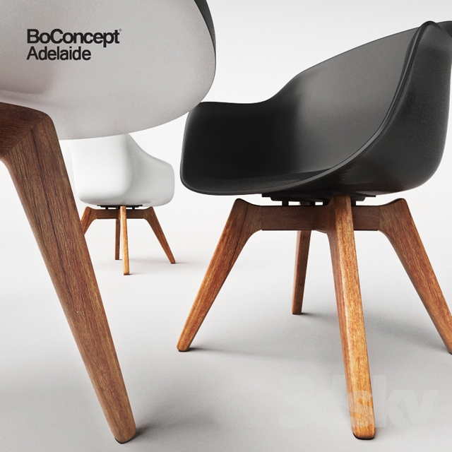 Attrayant 3d Models: Table + Chair   BoConcept Adelaide, Chair And Table