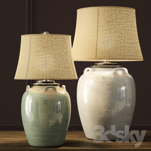 3d Models Table Lamp