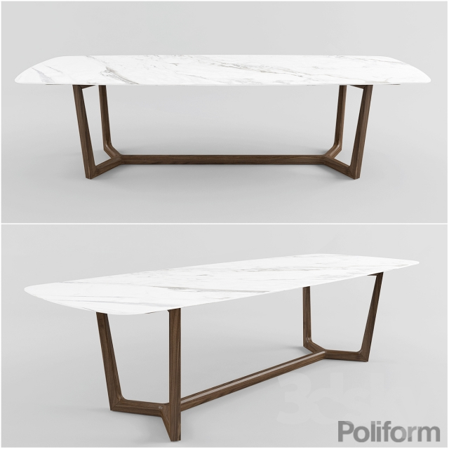 3d Models Table Poliform Concorde