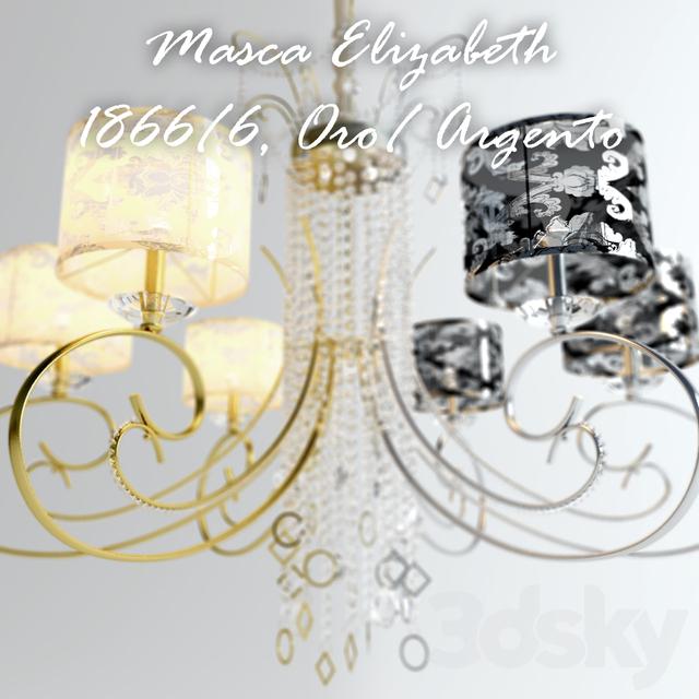 Masca Elizabeth Oro / Argento 1188/6