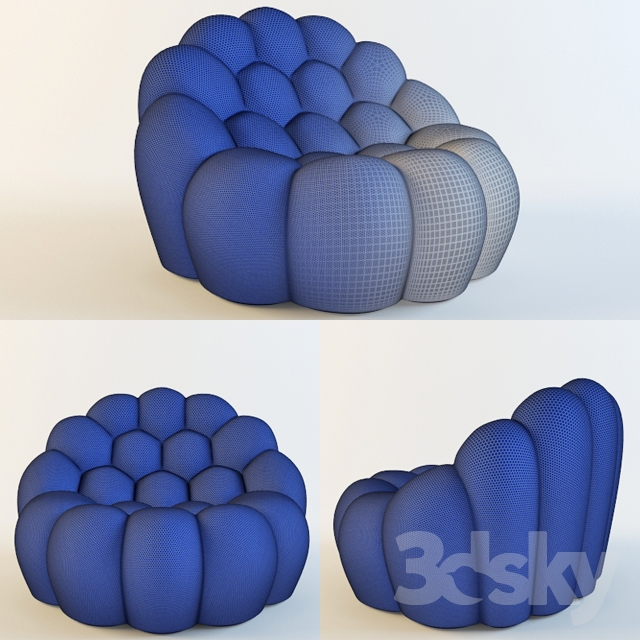 Rochebobois BUBBLE ARMCHAIR