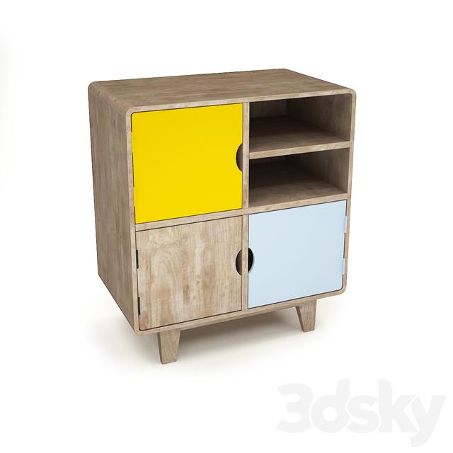 Rafn Scandinavian-style chest of drawers