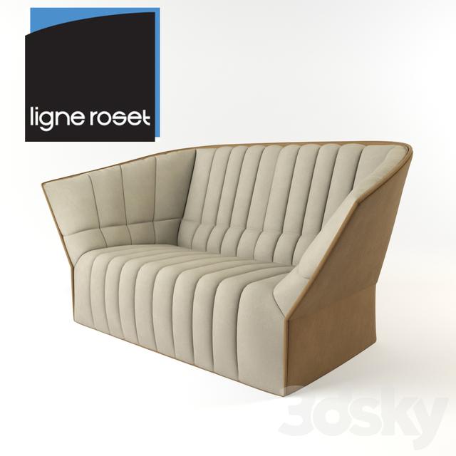 3d models sofa moel 3 seat sofa ligne roset. Black Bedroom Furniture Sets. Home Design Ideas