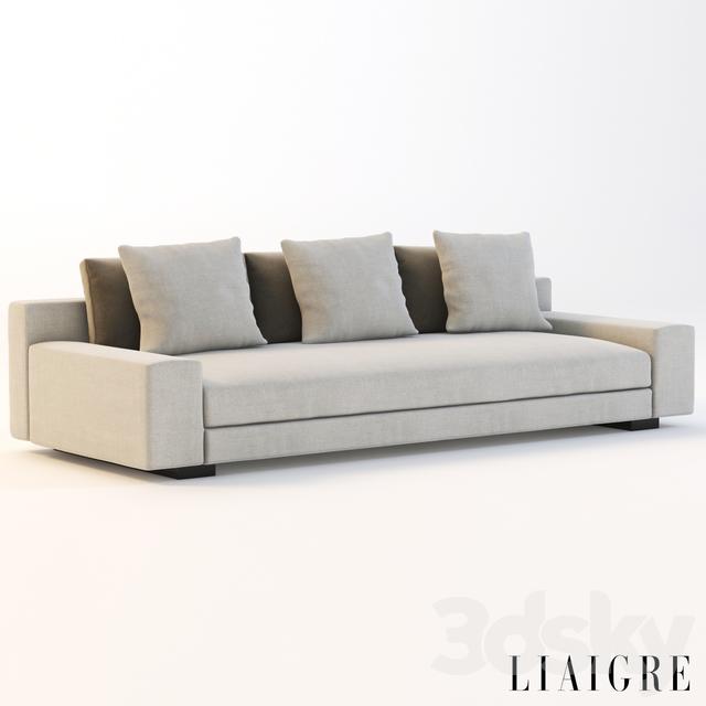3d models: Sofa - Augustin sofa