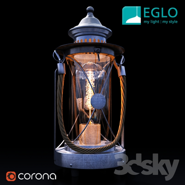 Table lamp Eglo Vintage collection art. 49284