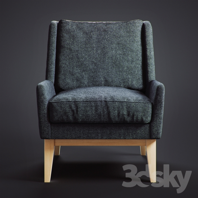 Delicieux 3d Models: Arm Chair   Frankie Chair