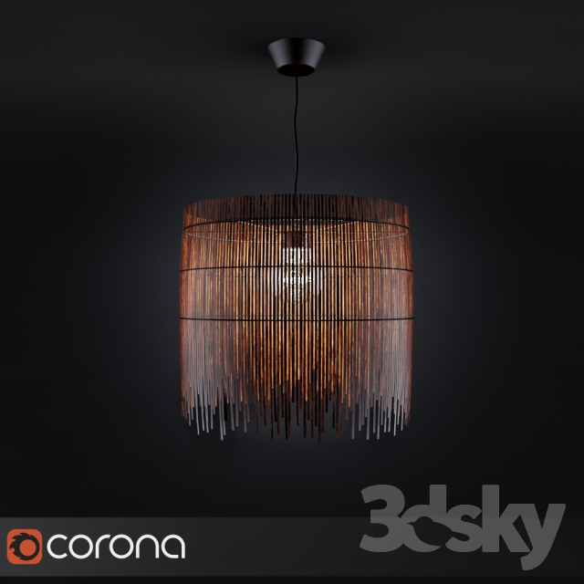 3d Models Ceiling Light Rotvik
