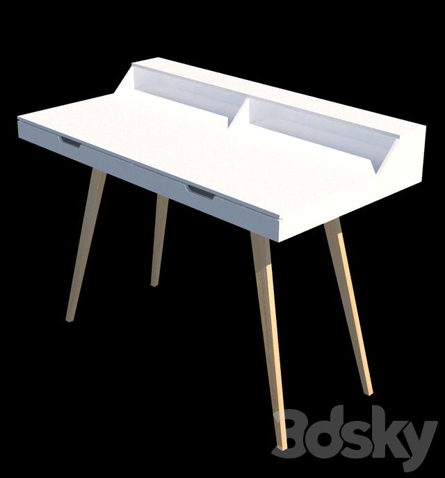 3d models table m max schreibtisch durham for Schreibtisch 3d modell