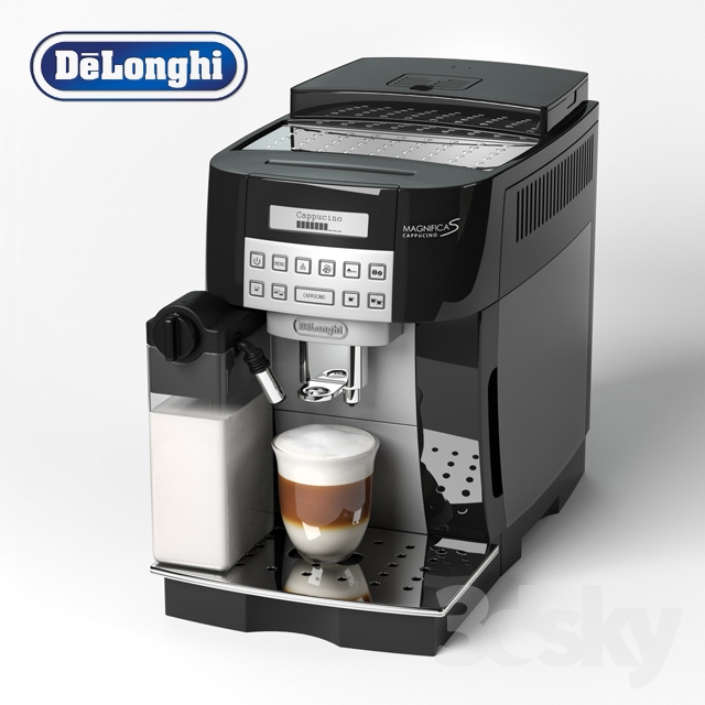 3d models kitchen appliance de 39 longhi magnifica s ecam. Black Bedroom Furniture Sets. Home Design Ideas