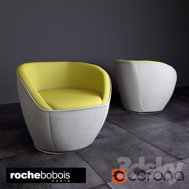 Peachy 3D Models Arm Chair Edito Armchair By Roche Bobois Bralicious Painted Fabric Chair Ideas Braliciousco