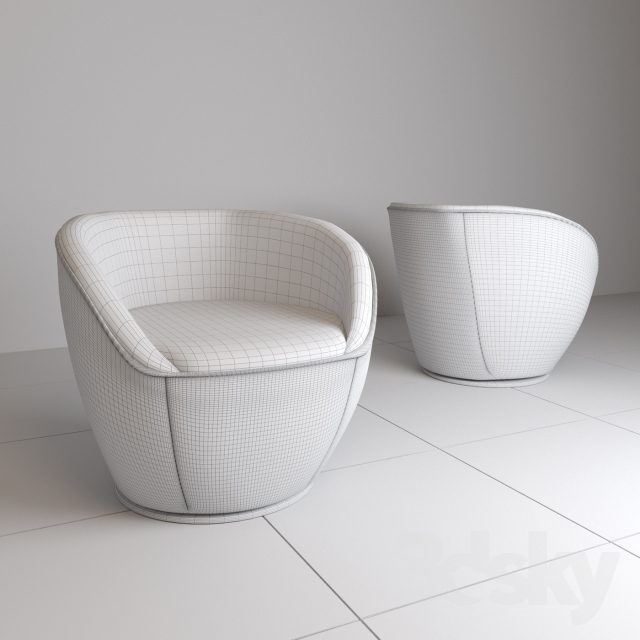 Tremendous 3D Models Arm Chair Edito Armchair By Roche Bobois Cjindustries Chair Design For Home Cjindustriesco