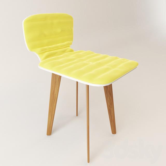 Chair upholstered headboard c
