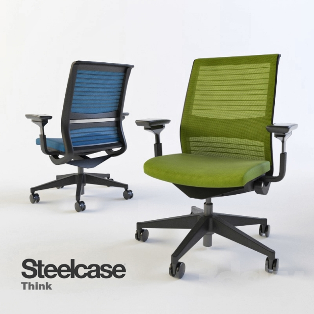 Exceptional Steelcase, Think Swivel Office Chair