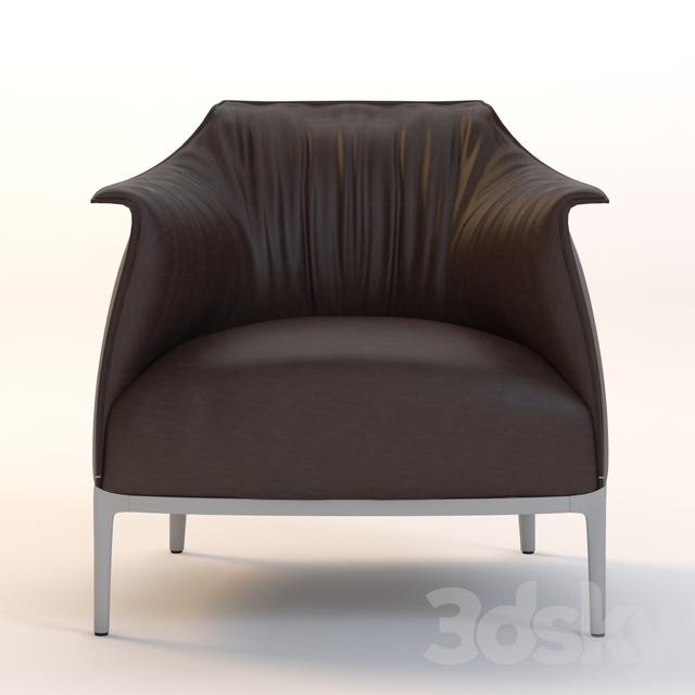 3d models: Arm chair - ARCHIBALD Poltrona frau