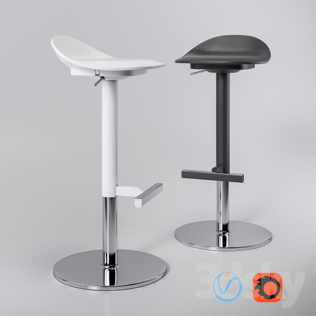 3d Models Chair Jan Inge Ikea Stools