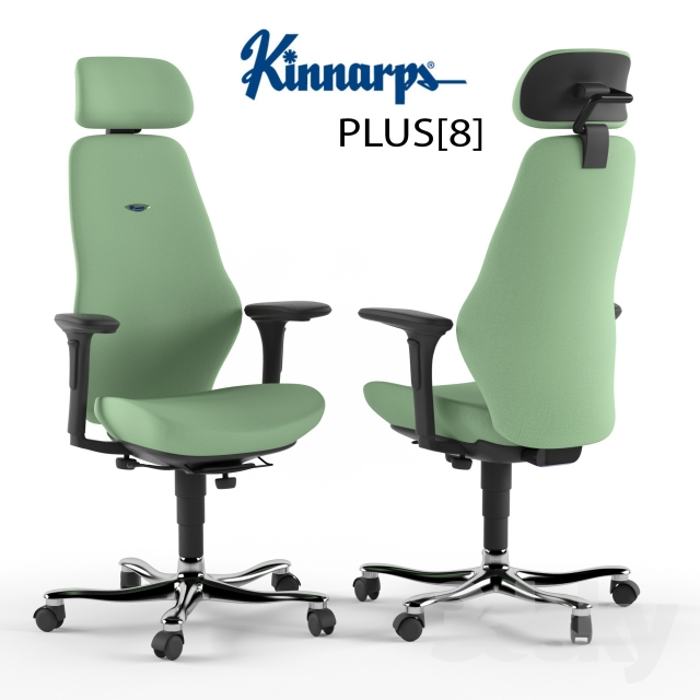Kinnarps PLUS [8] (desk Chair)