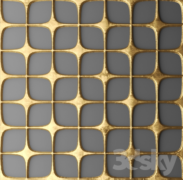 3d Metal Wall Panels : D models other decorative objects decor for wall