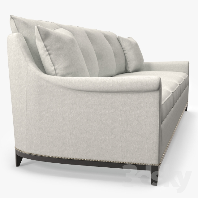 3d Models Sofa Hickory Furniture Jules Sofa