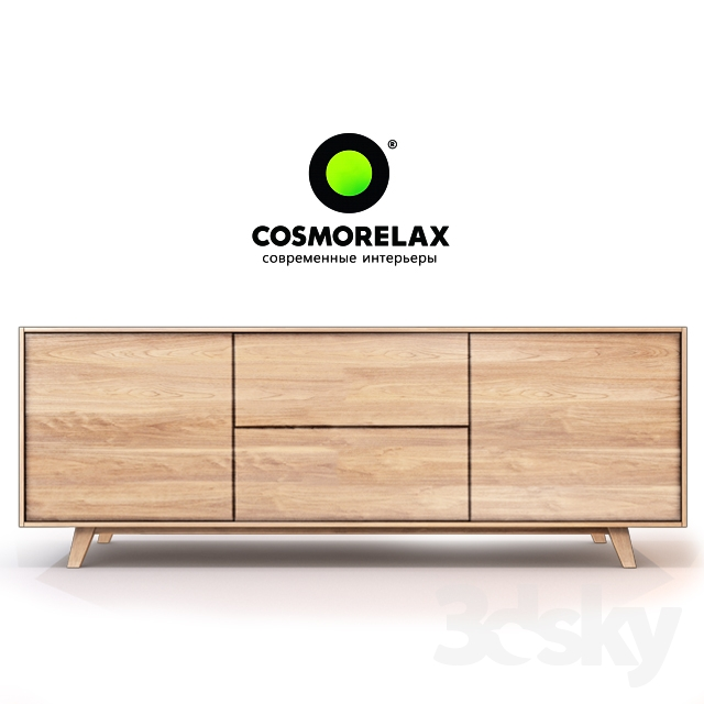 3d models sideboard chest of drawer cosmorelax for Sideboard xenia