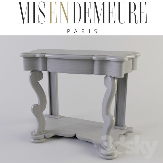 3d models: Other - Console Misendemeure Sideboard MTRE4350