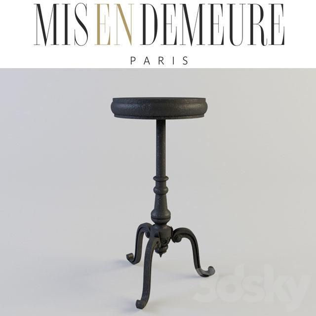 3d models: Table - Misendemeure Pedestal Table