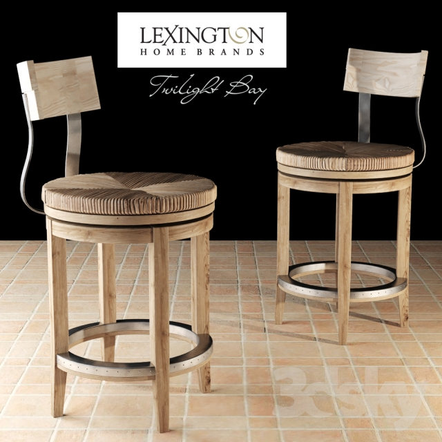3d Models Chair Dalton Counter Stool