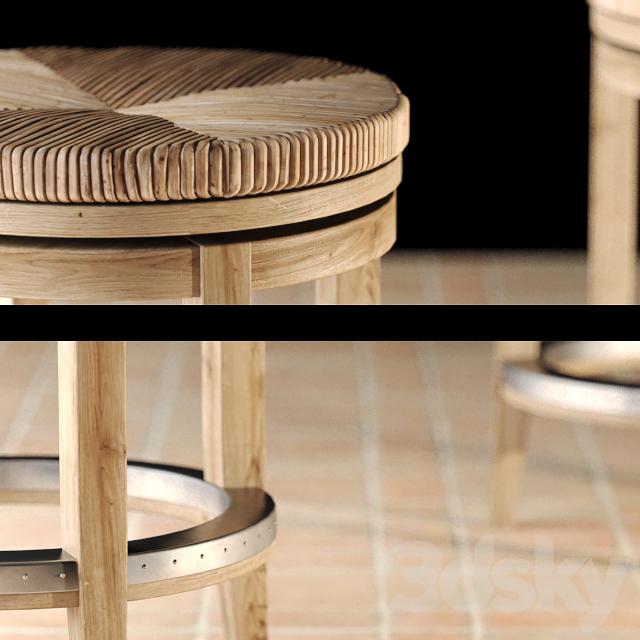 3d Models Chair Dalton Counter Stool