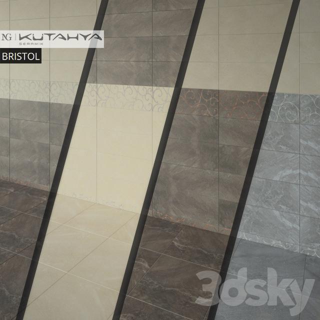3d models tile kutahya seramik bristol