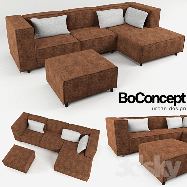 Carmo sofa excellent boconcept we like the look of the carmo sofa in this dramatic and chic - Shiade sofas ...