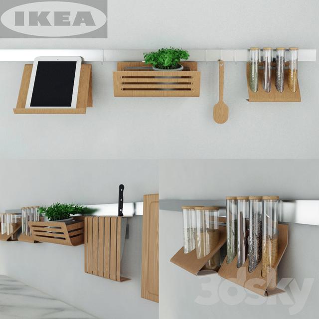 3d models: Other kitchen accessories - IKEA kitchen set ...