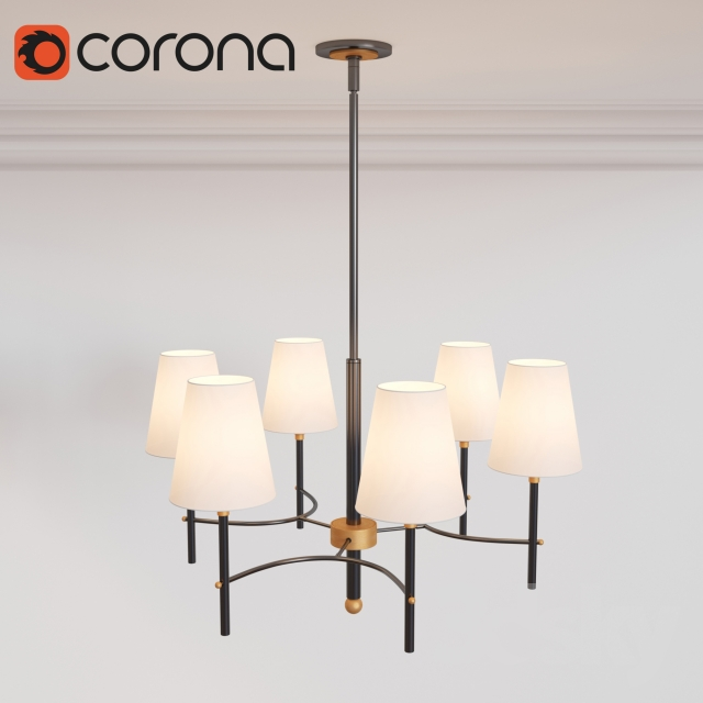 3d models ceiling light arc mid century chandelier 6 light arc mid century chandelier 6 light aloadofball