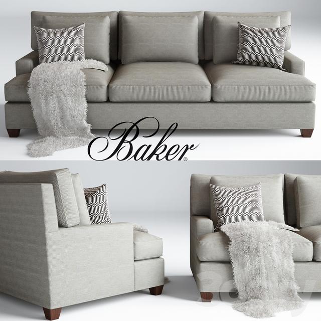 Baker Loose Back Sofa Barbara Barry No 830 86