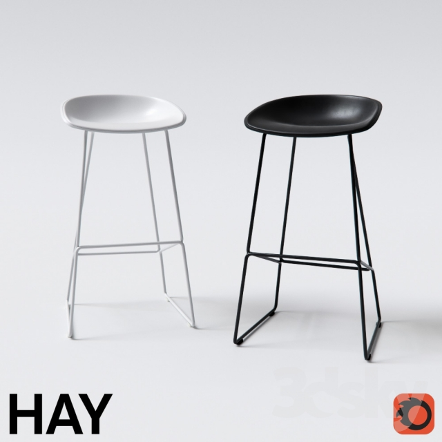 3d models chair hay about a stool. Black Bedroom Furniture Sets. Home Design Ideas