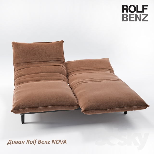 3d models sofa sofa rolf benz nova. Black Bedroom Furniture Sets. Home Design Ideas