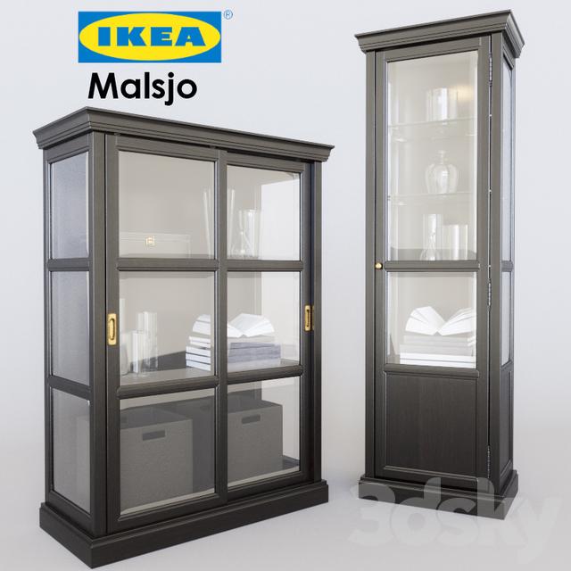 3d models wardrobe display cabinets malsj
