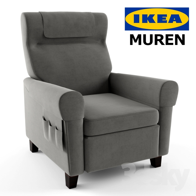 MUREN Recliner by IKEA  sc 1 th 225 & 3d models: Arm chair - MUREN Recliner by IKEA islam-shia.org