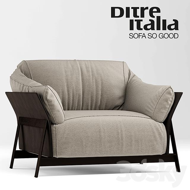 3d Models Sofa Sofa And Chair Kanaha Ditre Italia