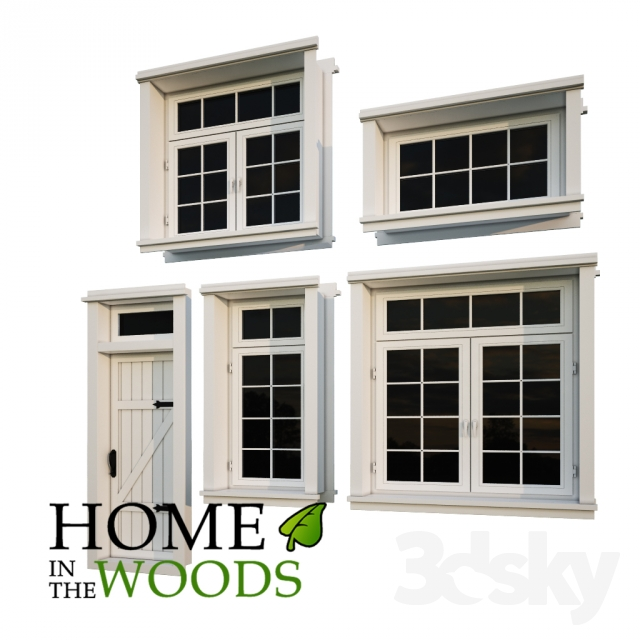 3d Models Windows Windows And Doors For Houses