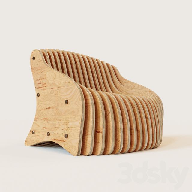 3d Models Arm Chair Parametric Seat