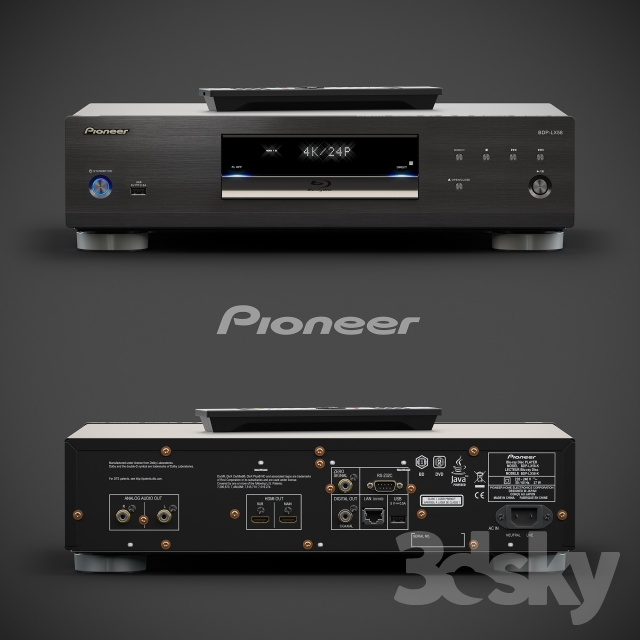 Pioneer BDP-LX 08