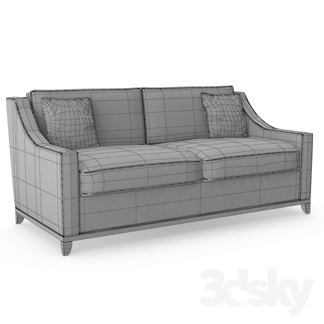 3d models sofa the sofa and chair company spencer 2 seat sofa The sofa company