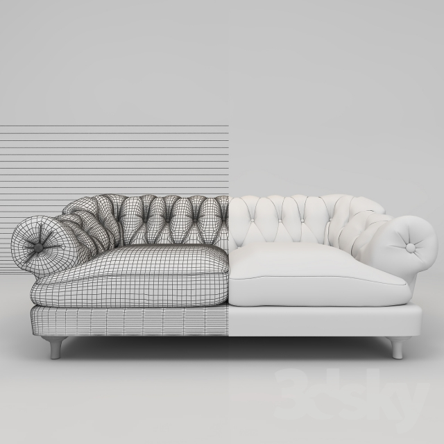 Bon 3d Models: Sofa   BAGSIE SOFA