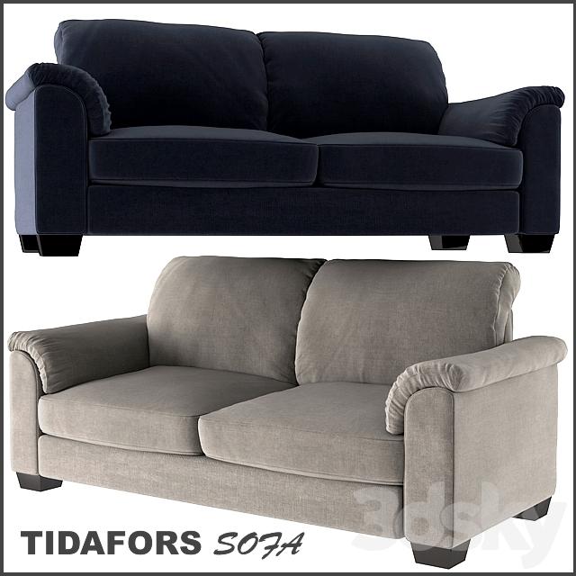 3d Models Sofa Tidafors Two Seat Sofa